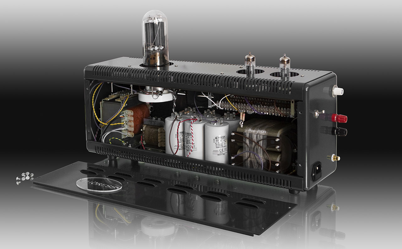 845 Single Ended Triode Mono Power Amplifier Thress Tube Monoblock Amplifiers Internal Construction